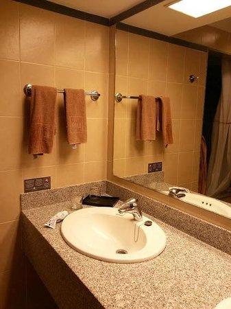 Hotel Riu Emerald Bay: baño