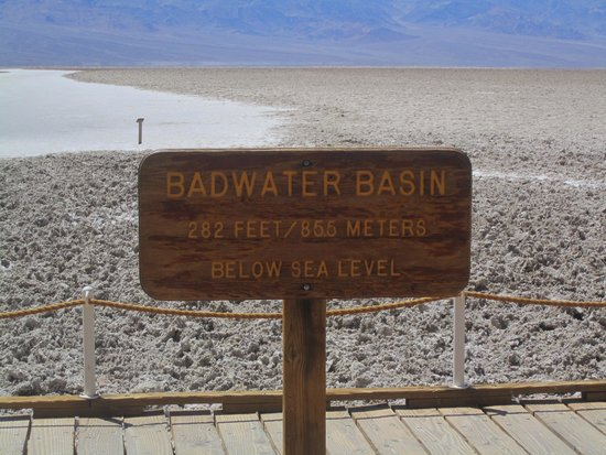 Badwater : The lowest point
