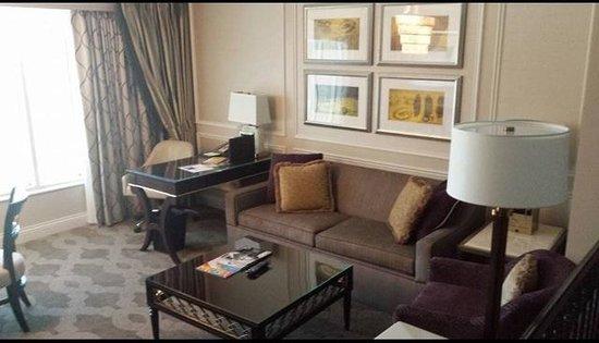 Venetian Resort Hotel Casino: Stunning living area