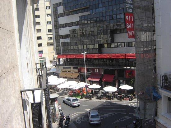 Hostal Gala: Vista desde el balcón