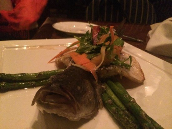 Raven and the Peach: Branzino