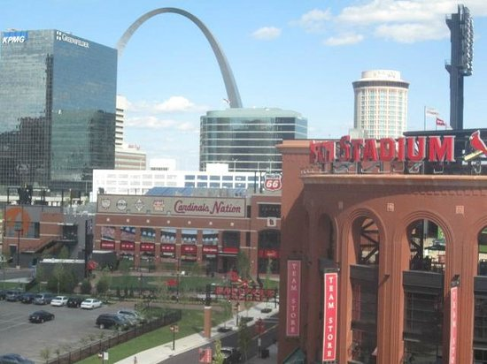 Westin St. Louis : view from room 623