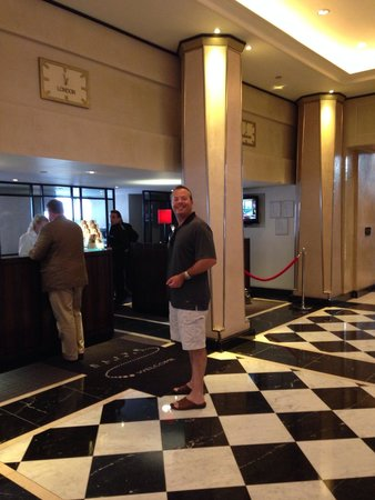 The Grosvenor Hotel : Bf checking in, he said reception was fantastic