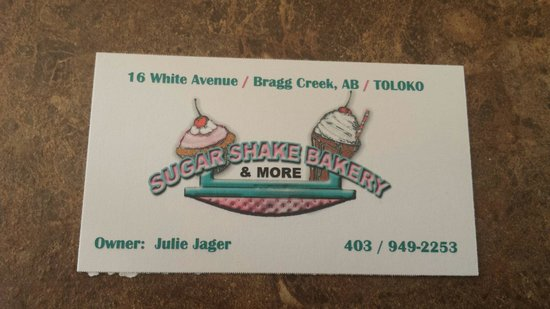 Sugar Shake Bakery & More Ltd