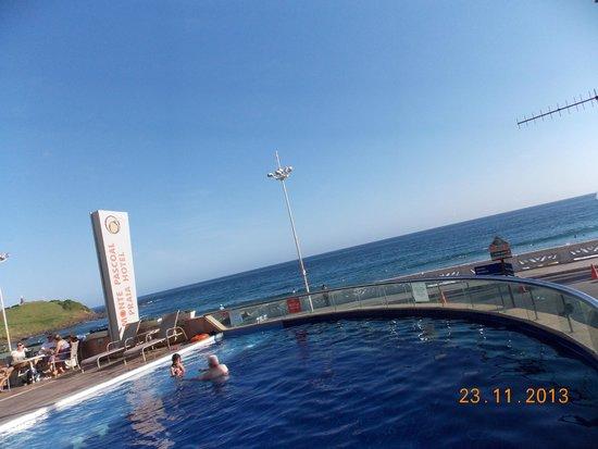 Monte Pascoal Praia Hotel Salvador: linda vista da piscina