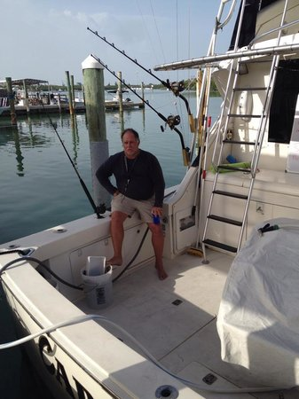 Cara Mia Fishing Charters: Captain Tim - Great guy with a ton of great stories.