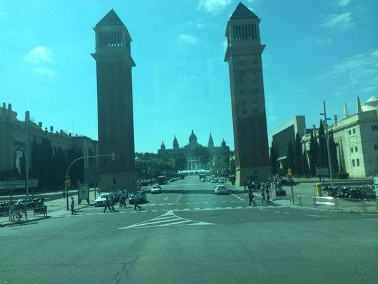 Placa Espanya : Nice plaza