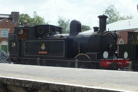 Isle of Wight Steam Railway: best engine on the island
