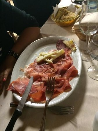 Hostaria Da Vigno: Antipasti misti