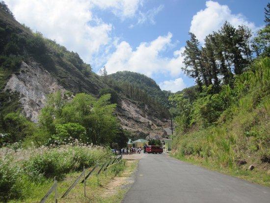 Sulphur Springs: Main Entrance