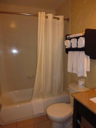La Quinta Inn & Suites Manhattan: Baño impecable