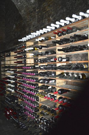 Eating Italy Food Tours: Wine cellar