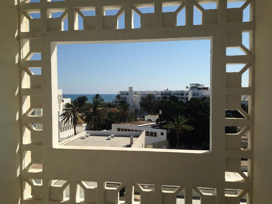Hotel Marhaba : View from room 216