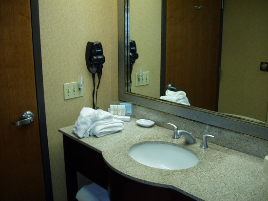 Hampton Inn Salina : Vanity/Sink