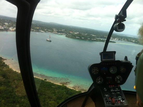 Ifira Island  Picture Of Vanuatu Helicopters Port Vila  TripAdvisor