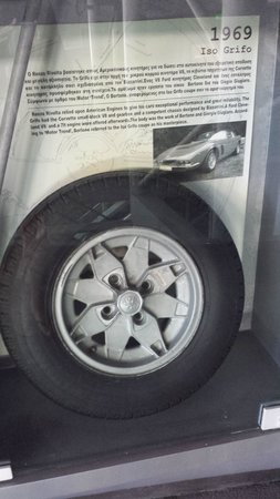 Hellenic Motor Museum: tire history