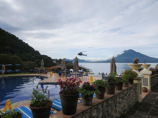 Hotel Atitlan : View from dining terrace 2
