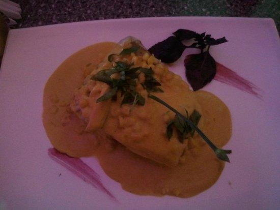 Restaurante Bolsi : Pacu grillado a la crema de hortalizas