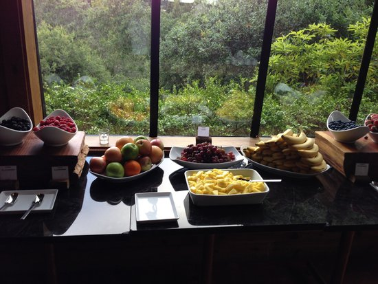 Ventana Inn & Spa : Breakfast