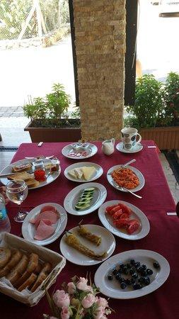 Sahin Palace Apartments: Turkish breakfast