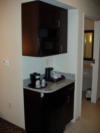 Holiday Inn Express and Suites Colorado Springs First and Main: Micro & Frig
