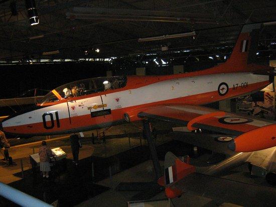 RAAF Museum: macchi jet trainer