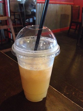 The Cow's End Cafe : Grapefruit with Ginger !! Is pretty nice !