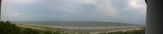 The Westin Hilton Head Island Resort & Spa: Panaroma view of Atlantic Ocean from room