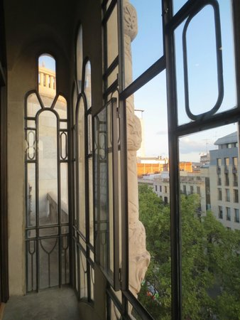 Casa Fuster Hotel : Le balcon à l'ancienne