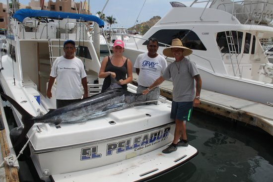 Marina Fiesta Resort & Spa: Brit's first time fishing in the sea