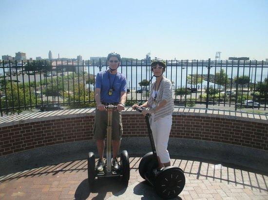 Philly Tour Hub: near Penn Landing