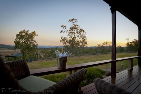 Spicers Hidden Vale: Room and bubbles