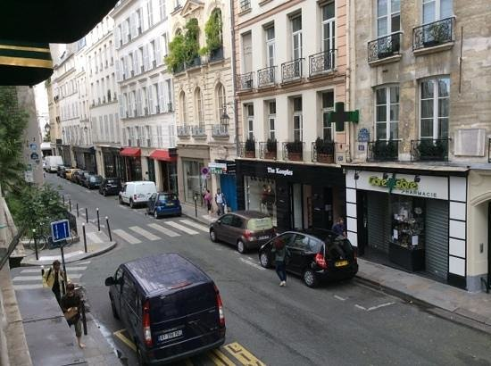 Hôtel de Seine : view from the triple