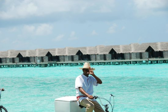 Anantara Kihavah Maldives Villas : Hello from Anantara Kihava Villas