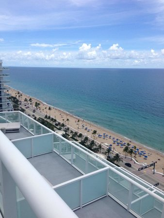 W Fort Lauderdale: Beautiful view from Tower I Suite