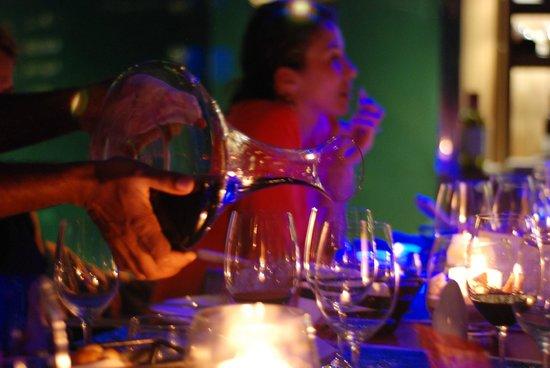 "Anantara Kihavah Maldives Villas : ""Sea"" Restaurant & elegant dinning (Antinori Estates Wine)"