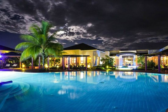 Melia Buenavista : night view main swiming pool