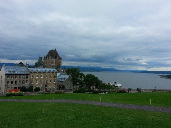 Old Quebec: Chateau Frontenac view from the Citadel
