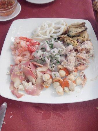 Punta del Este: Jardín de mariscos