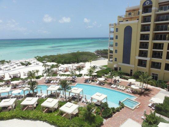 The Ritz-Carlton, Aruba : View towards adult pool