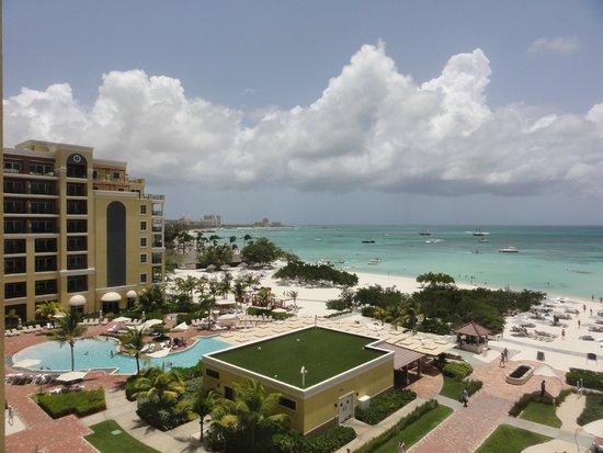 The Ritz-Carlton, Aruba : View From Lobby Balcony