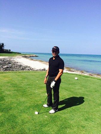 Punta Espada Golf Course : Linda vista del mar.