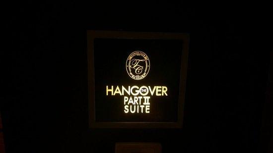 Tower Club at Lebua: hang over 2 a ete tourne dans cette suite
