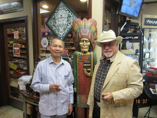 Taormina Hotel and Casino: Texas Mike