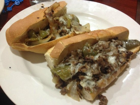 Sorrento Italian Restaurant, Bakery & Deli: Philly CheeseSteak All the Way