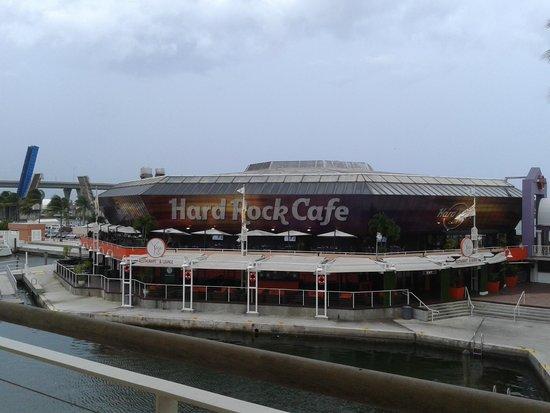 Bayside Marketplace : vista de hard rock