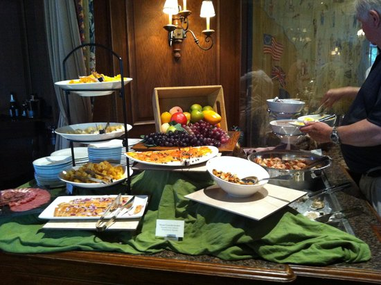 Wisconsin Room at the American Club: Seafood and cheese