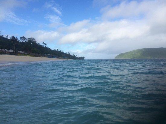 Lalomanu Beach : NIce beach, just beware of the fee