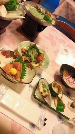Kokuminshukusha Shirakoso: 夕食