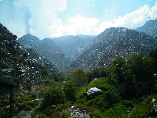 Palm Springs Aerial Tramway: misty again